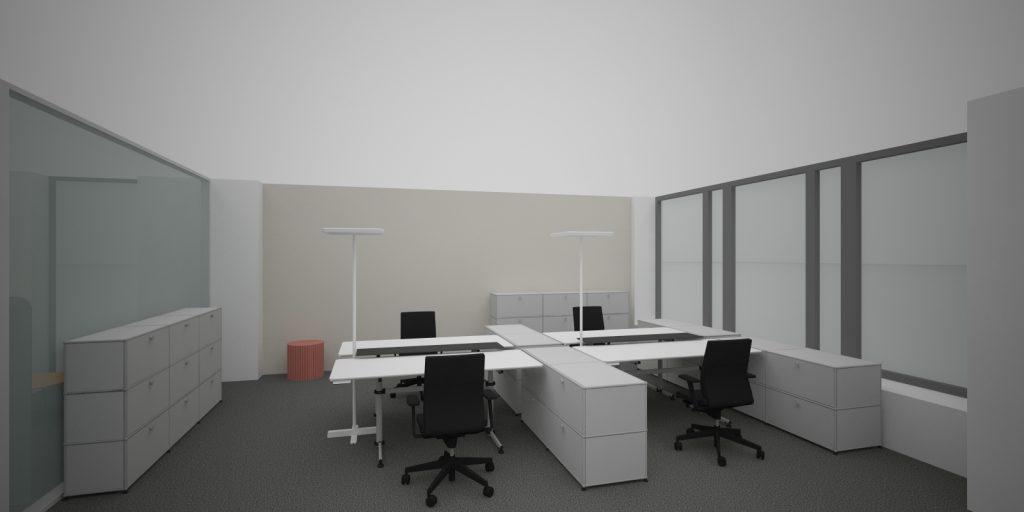 Kancelársky interiér